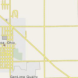Genoa Ohio Map.Genoa Ohio