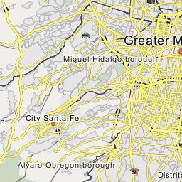 Nezahualcoyotl Mexico Map.Nezahualcoyotl Municipality Greater Mexico City