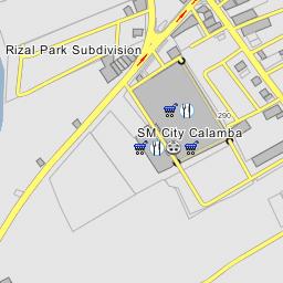 SM City Calamba Calamba - Calamba city map