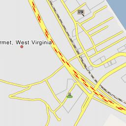 I 77 West Virginia Map.Interstate 77 Exit 89 Interstate 64 Marmet West Virginia